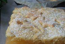 crostata di crema al limone e mele