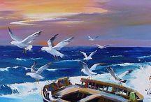 Seaside ~ art