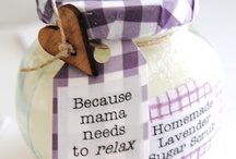 Homemade pampering stuff / by Kristin Hayes
