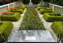 I love a parterre!  / by Margy Miller