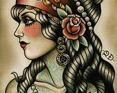 Traditional flash, vintage flash, neo traditional and american traditional / by Marisha Meza