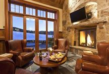 Favorite Fireplaces / Book a vacation rental with a roaring fireplace to cozy up to! Whether it's a cold winter's day, or a chilly evening in the summer, you're sure to enjoy this inviting feature. To book your favorite, call us at 800.970.7541 or visit http://www.telluride-rentals.com