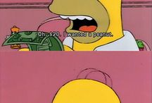 The Simpsons(Preferably with the music and everything)