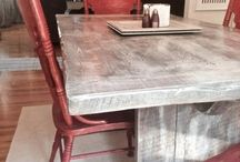 Reclaimed Wood Dining Room Tables / Reclaimed Wood Dining Room Tables