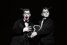 Spoleto56 - The old woman / Direction, set design and light design Robert Wilson With Mikhail Baryshnikov and Willem Dafoe Teatro Nuovo - Spoleto © Andrea Kim Mariani / by Spoleto Festival dei 2Mondi