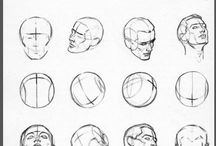 character drawing techniques and processes