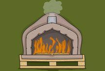 Pizza/braai plek
