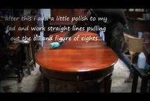Wood finish / Refinish and repair wood furniture