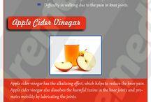 apple sider vinegar for knee pain