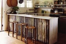 Corrugated Metal Projects / metal, roofing, siding, projects, home improvement, art