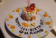1歳 バースデー ケーキ