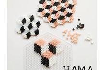 Hama / Hama perler i alle afskygninger