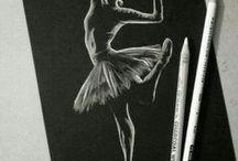 siyah defter/ karton sanatı