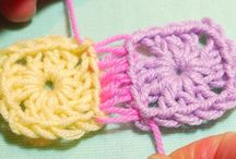 crochet square joins