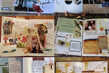 Art journaling and diary