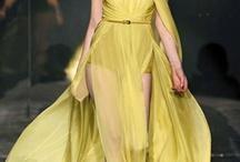 Chiffon dresses / made of chiffon