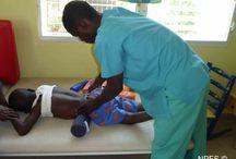 La santé / Un de nos objectifs est la bonne santé de nos enfants, de notre équipe et des haïtiens tout simplement