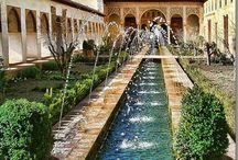 endülüs, Osmanlı bahçe uygulamaları örnekleri