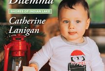 His Baby Dilemma / December 5,2017 release from Harlequin Heartwarming #9 in Shores of Indian Lake series.