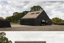 architectuur met riet