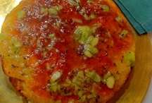 Bizcocho con frutas de la Huerta de Pesoz