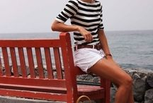 Nautical Fashion / fashion that is inspired by the sea...