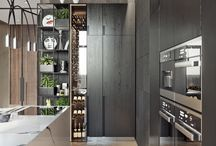 Modern - Dark kitchens