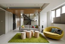Home Interior Design / Layout, design, and decor of the rooms and gardens in living spaces.