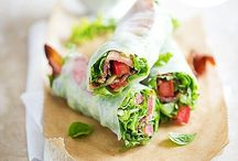 Spring Roll Fantasies / Very healthy meal and I love spring rolls