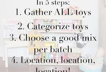 play stations / Playroom/ toy inspiration ideas
