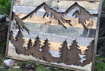 Egyedi faragott fa ajándék tárgyak