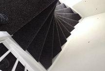 Trap tapijt / Hier laat ik ons werk zien als woning inrichtingsbedrijf! Frankes Stofferingen