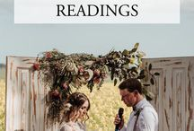 Wedding vows & readings