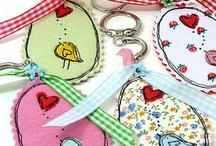 Key rings / For pretty gifts / by Nicci Du Preez