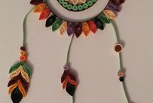 Quilled wall hanging 1
