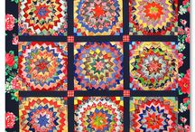 Quilts / Whether by hand or on my machine, I embrace hand-made things.