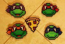 Turtugas ninja hama / Tortugas
