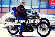 Celebs and motorcycles