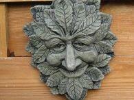 maschera a foglie