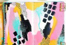 Art Journaling & Mixed-Media
