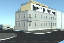 Dachaufbauten / Verdichtetes Bauen. Wohnraumerweiterung auf dem Dach -  ideal mit Modulhaus Casaplaner www.casaplaner.ch/home-module/dachaufbau/