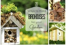 gardens, bird houses, sheds / For the love of gardening - a celebration of flora.