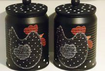latas decoradad
