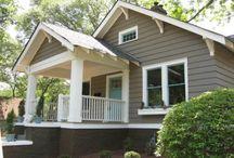 Exterior house color combos / Dream Home