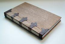 Wood bookbind
