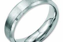 Chisel - Stainless Steel Rings