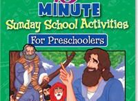 Preschool & Pre-K Bible Lessons and Activities! / Easily teach your preschoolers with these fun Bible activities and lessons to keep them engaged and happy! Perfect for homeschool, Sunday school, and kids church!