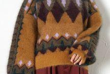 Knit hacquard