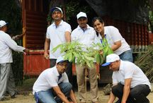 Tree Plantation / Here is a sneak peak from the Vestige heart to heart foundation's tree plantation drive going on at Roshanara Club.
