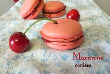 Macarons / Mes recettes de macarons .. ❥